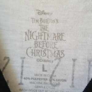 Disney Tops - Disney Nightmare Before Christmas Tee